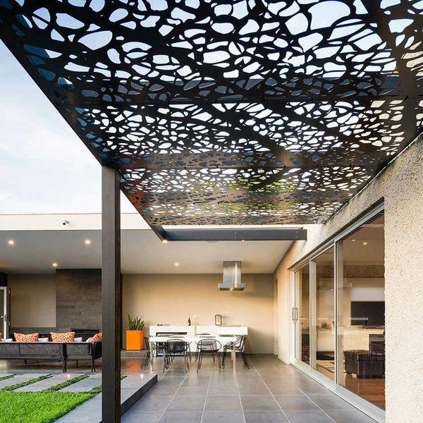 Metal Canopy, Pergola, Umbrella | Services | Jordanian